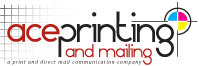 Advertising Specialties: ACE PRINTING & MAILING, Berlin, Maryland